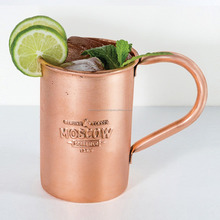 solid stainless mug for moscow mule mug / antique hammered moscow mule mug