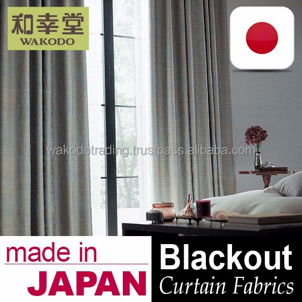 Japanese Blackout Draperies Curtain Fabric
