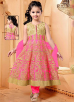 2016 cheap india kids clothes brand - Fashion kids party wear girl dress - New girls anarkali suits - Kids fashion anarkali suit