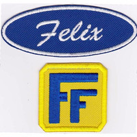 Fix-it-Felix Patch Set Cosplay Costume Iron On