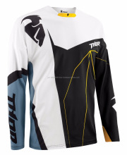 Motocross Men's MX ATV Motocross Jersey S5 Core Splinter Black/Steel Medium