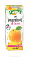 100% ORANGE PRESSED JUICE 250 ml, NOT FROM CONCENTRATE