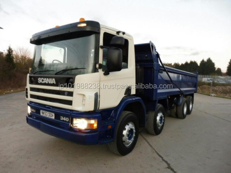 USED TRUCKS - 2003 SCANIA 114 8X4 TIPPER IN EXCELLENT CONDITION (RHD 1801307)