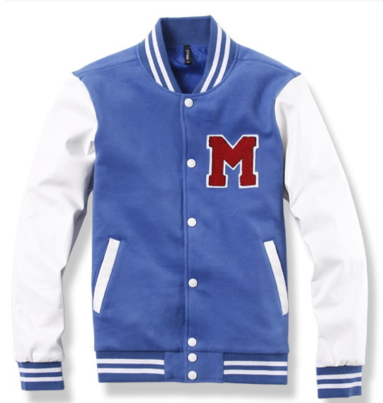 Cotton fleece jacket / Custom Cotton jacket / Get Your Own Custom Design Varsity Jackets With Sublimation Lining From Pakistan