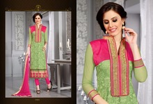 Elegant And Stylish Brasso Dress Material