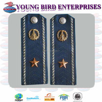 Ukrainian AF Officer Parade Dark Blue color shoulder boards
