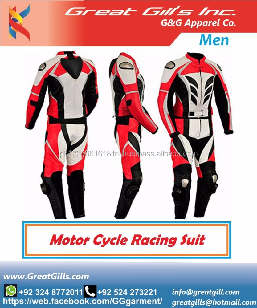 Motorcycle racing leather jacket/ motorcycle suits/motorbike suits
