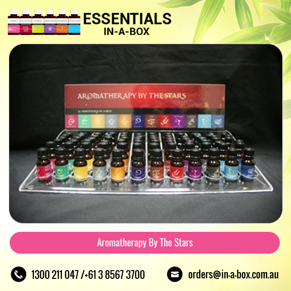 Aromatherapy by Sun Sign Essential Oil with Counter Stand