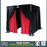 2013 RK Manufacturing Company Pipe and Drape System for Free Standing Photo Booth for Sale