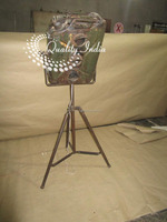 Antique Style Metal Three Color Focus Light With Stand