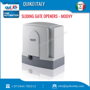 Italian Automatic Sliding Gate Operators Moovy Series for Export and Sale