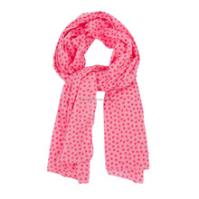 Cotton Bamboo print pointed star scarf Scarves