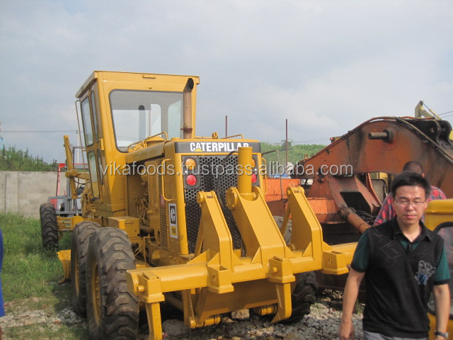 used caterpillar 12G motor grader,used motor grader catpillar 12G ,good condition caterpillar 12G