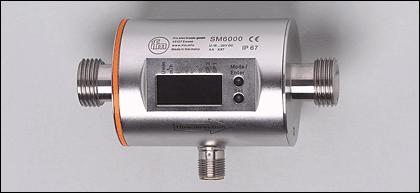 "ifm electronic Magnetic-inductive Flow Rate Meter Process connection G1/2"" SM6000"