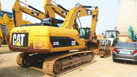 Cheap used Caterpillar 320D hydraulic excavator for sale
