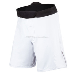 Cheap Quality Fight Short White provides flexibility, 90% Polyester 10% Elasthan