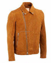 High quality Brown leather winter Bomber pakistan jackets wears man