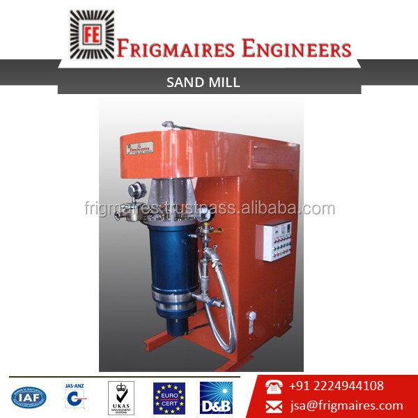 Hydraulic Horizontal Sand Mill Available at Competitive Price