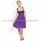 Bavarian Mini Dirndl, dirndl dress, ladies dirndl