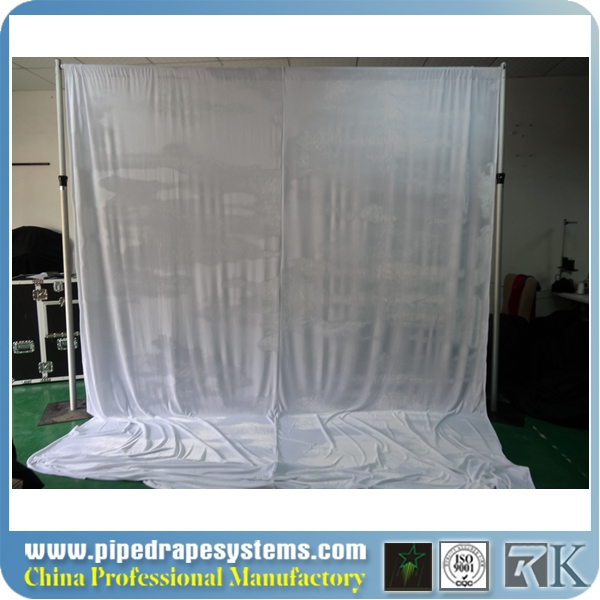 telescopic portable pipes drapes and bases for wedding party