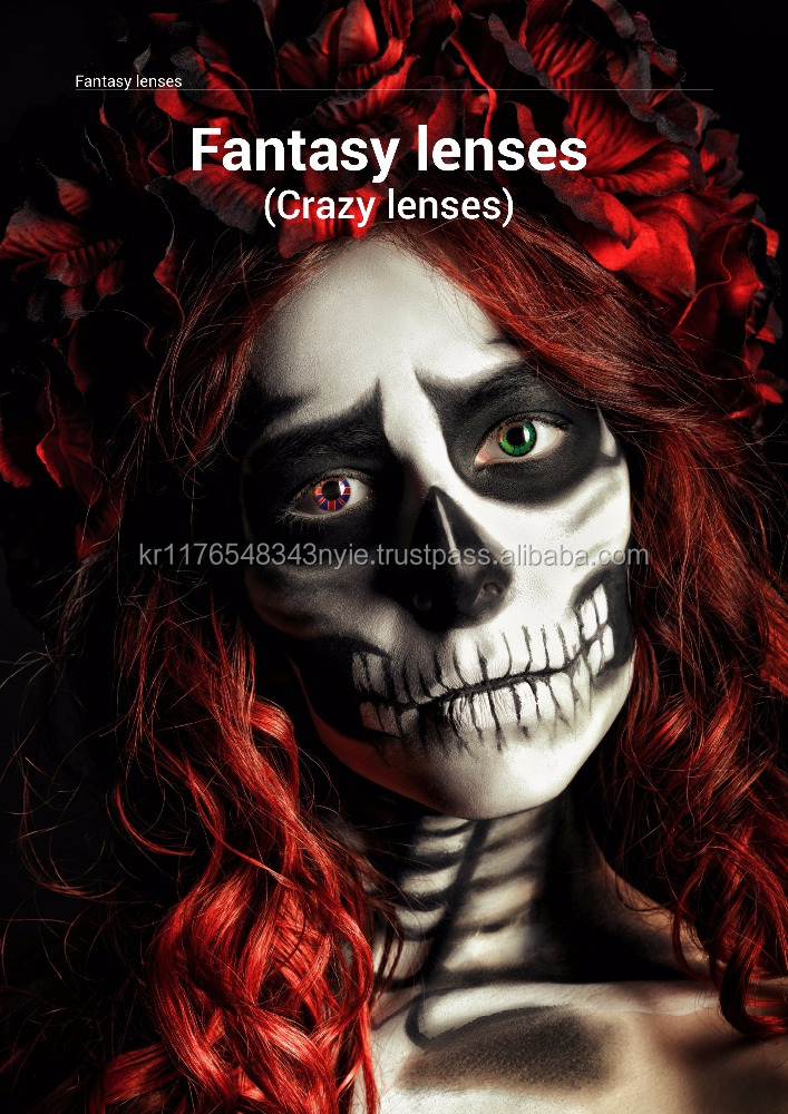 Crazy lens Halloween Carnival Fancy lens daily monthly yearly