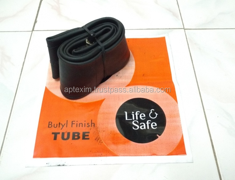 various grades motorcycle butyl finish natural rubber tube and mopeds two wheeler rubber natural tube