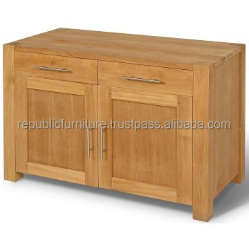 Modern Indoor Manufacturer Teak Plain Buffet Furniture Jepara