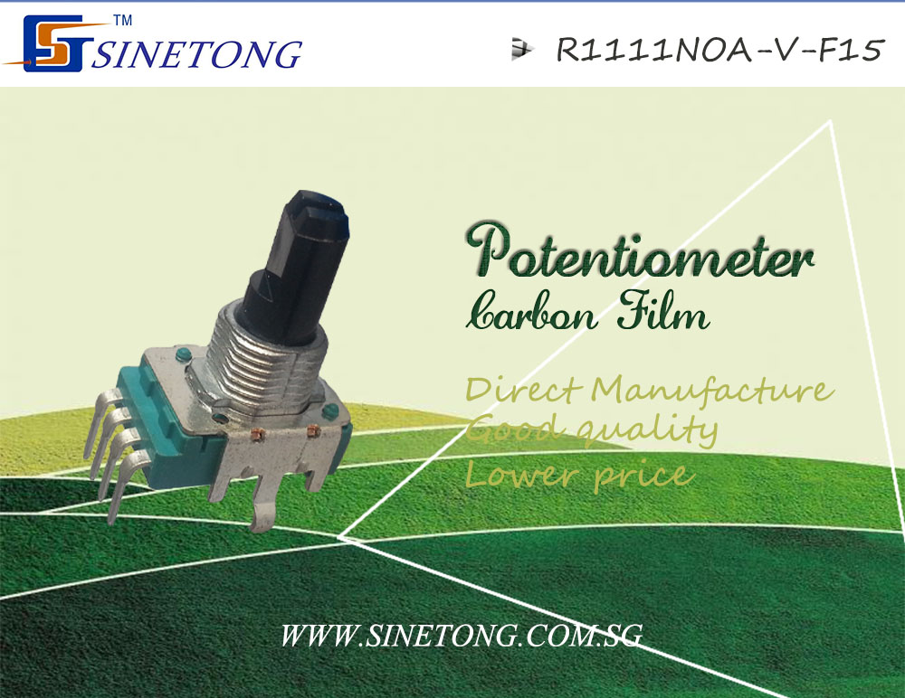 plastic shaft carbon film potentiometer High quality rotary potentiometer
