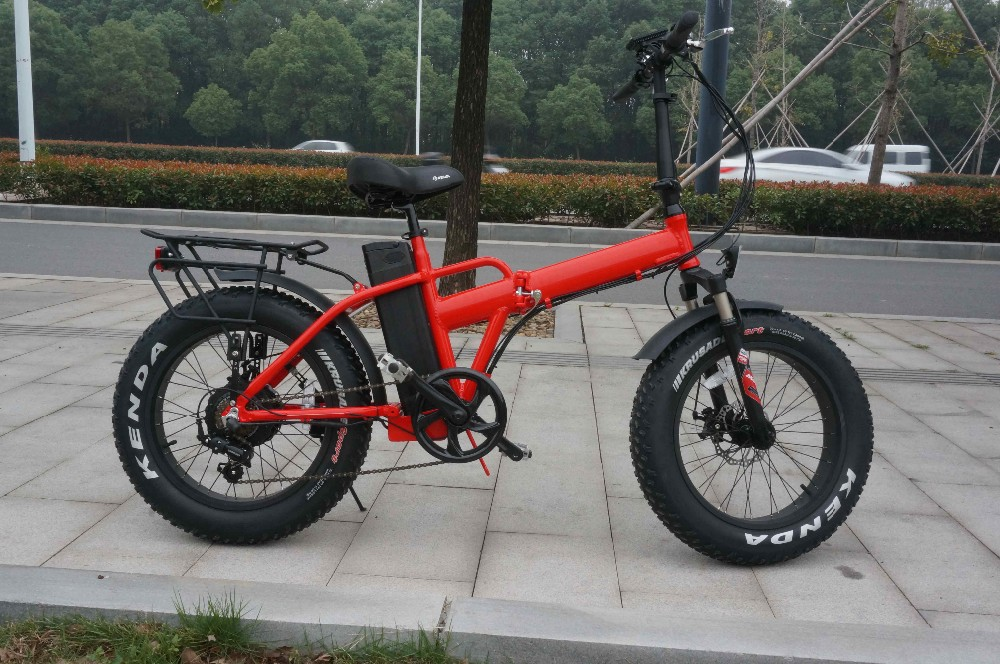 hidden battery powerful ebike long distance folding electric mountain bike