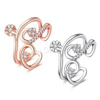 Top selling Silver Plated Brand Rings For Women Elegant Party Wedding Rings Rose Gold fine jewelry 1141131