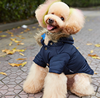 Small Dog Clothes YourPetStyle Winter Collection Navy Blue Vest