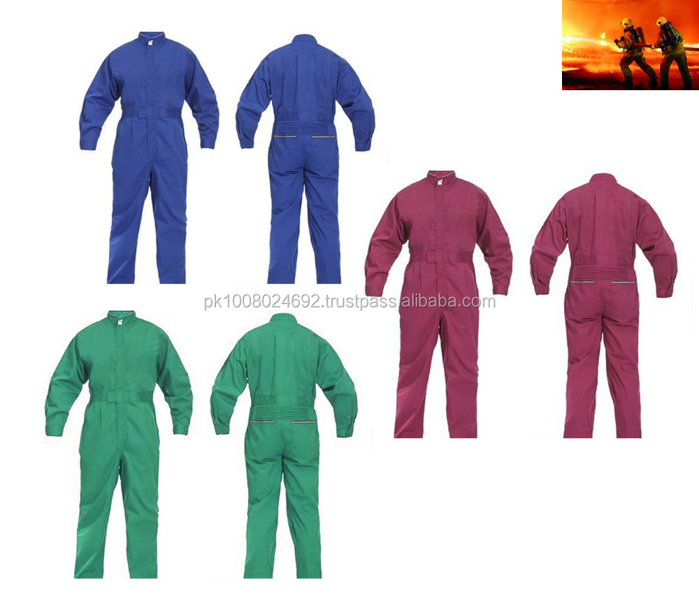 industrial fire fighting mines oil field safety protective FR work wear