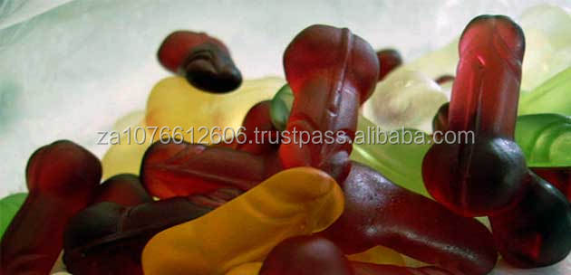 Halal Costom Sexy Dick Penis Shaped Gummy Candy