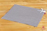 HIGH QUALITY 100% Flax / Linen tablecloth Manufacturer placemat / flax mat