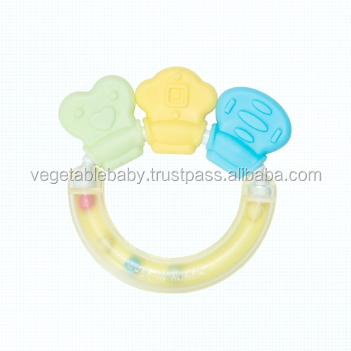Eco-friendly baby toy : Baby Teether Spin made from fermented cornstarch