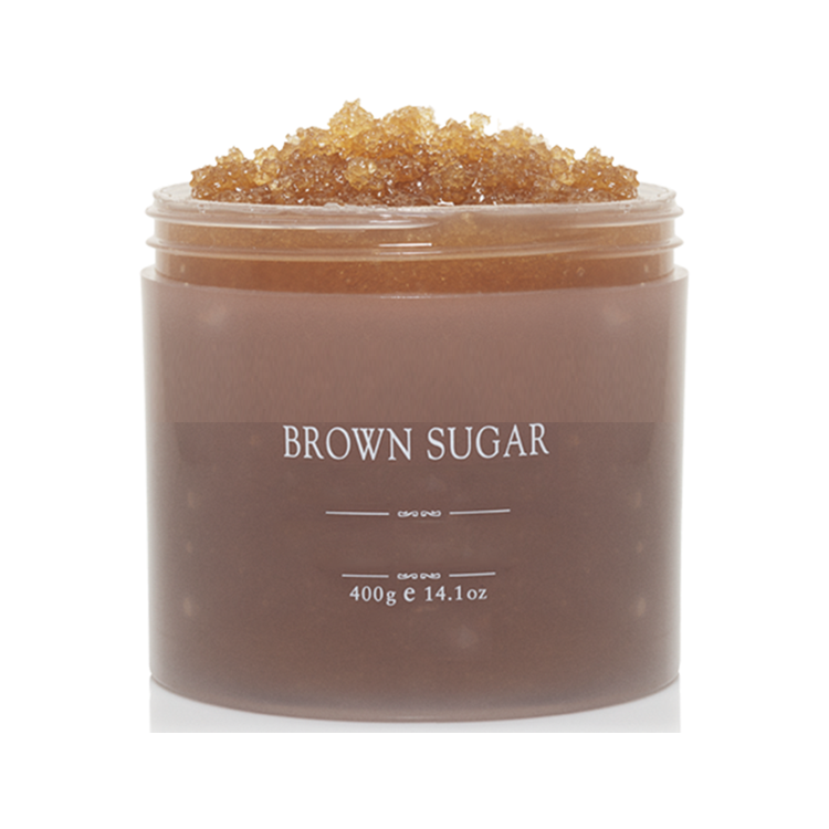 OEM organic dead sea salt exfoliating remove dead skin brown sugar coffee scrub body