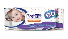 BONFIX BABY WET WIPES TURKEY 80Pcs