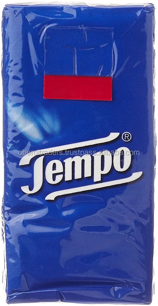 Tempo Classic Pocket Hanky ( 6 packs* 10 sheets)