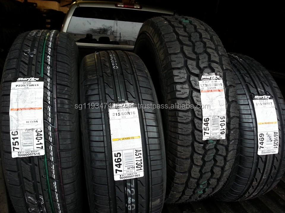 New and used car tyres from Japan