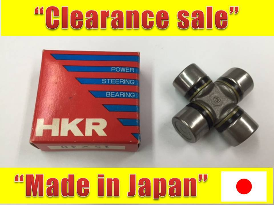 High quality and Reliable iso certified companies Universal Joint 15*40 for automobile also available