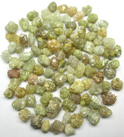 Natural Yellow Uncut Raw Rough Diamond