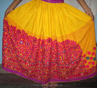 Wholesale Price in new arrival Handmade vintage banjara cotton skirt