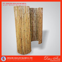 Full round roll of bamboo fence cendani