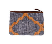 Natural Fibres Printed Soft Cotton Pouch