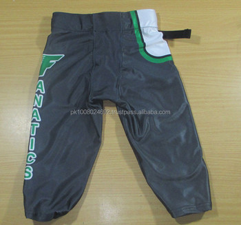 custom american football team uniforms jesey pants