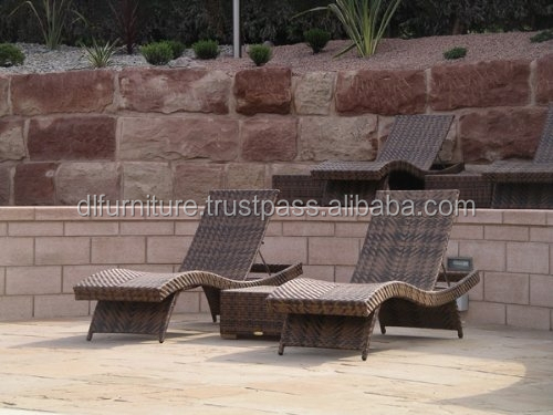 Leading Wholesale Garden Patio Sofa Set, Outdoor Restaurant Sofa Chair, Rattan Wicker Cane Lounge Chair, 4 Seat Swimming Pool So
