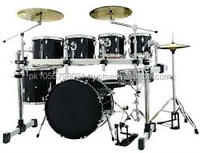 High Grade 7 Pieces L-3100 Drum Set
