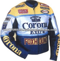 motorbike Corona leather Jacket