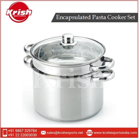 Best Quality Stainless Steel Encapsulated Pasta Cooker Set for Sale
