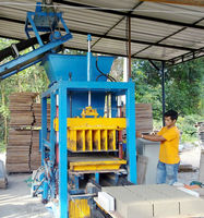 Cement Brick & Concrete Block Machines